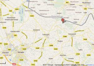 Kaart Jan Weersink Support Hezingen